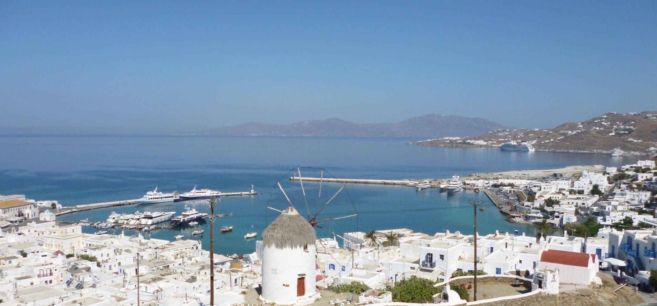 Mykonos Griechenland Urlaub - Tipps, Infos, Videos zur Mykonos Reise & Ferien auf der griechischen Insel Mykonos